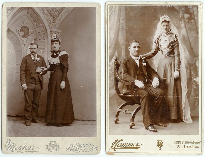 The Bride Wore Black Wedding Cabinet Cards Remains To Be Seen