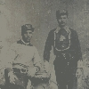 Spectacular Occupational: Two Firemen Tintype